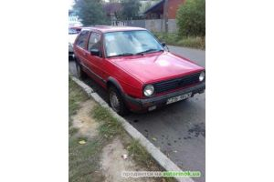 Volkswagen/Golf 2,1.6(1987 г.)